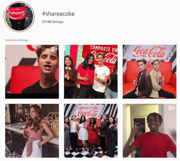 Coca Cola Hashtag ALL.AIRT