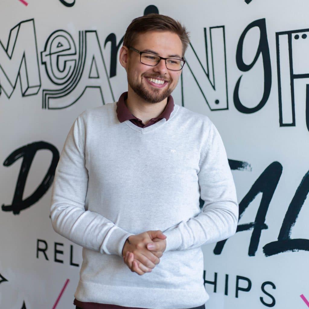 Richard Henemann ALL:AIRT Projektleiter mit nur 23 Jahren