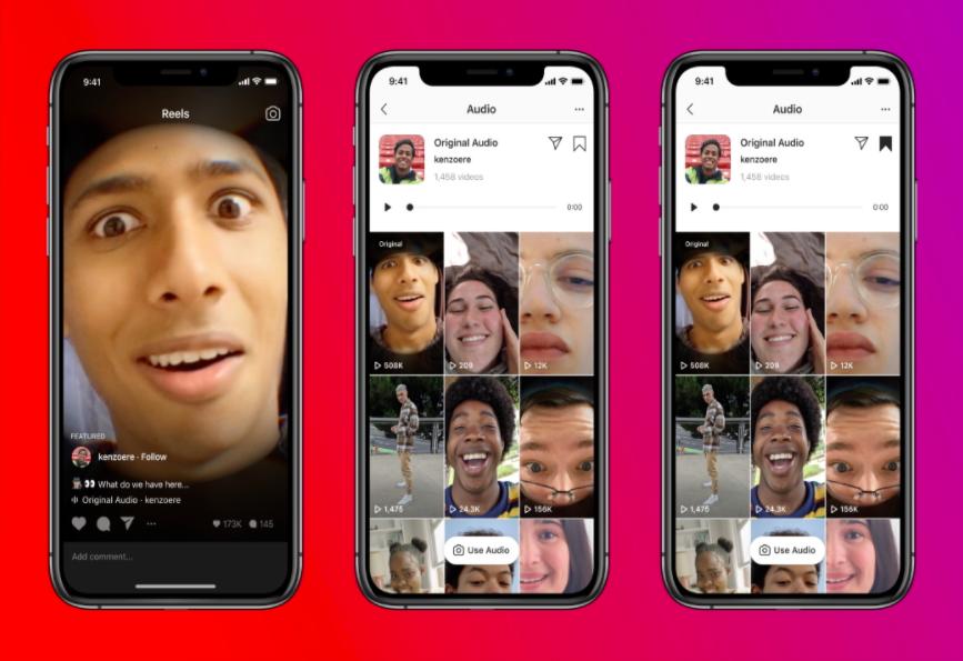 Instagram Reels Audio Browser