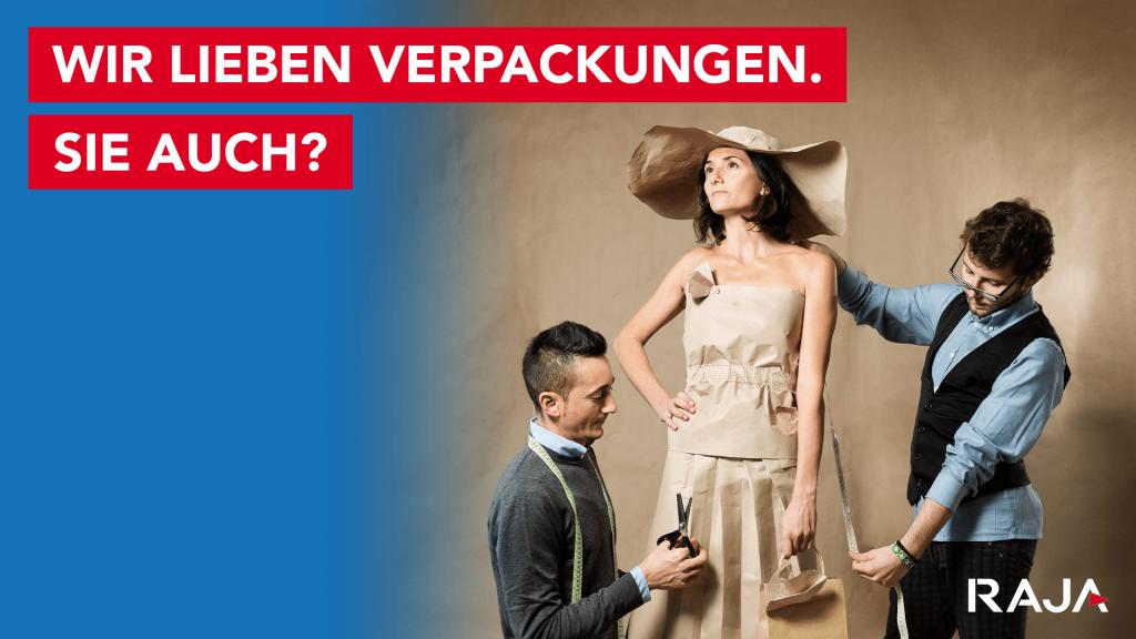 RAJA e-commerce Kampagne 1